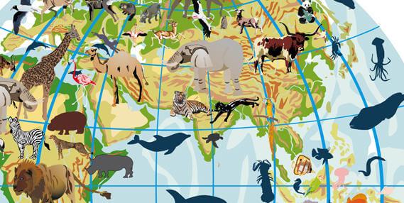 Course Image Biol3036 : Bioģeogrāfija